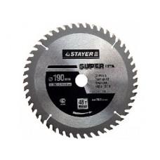 Диск отрезной Stayer Диск для цикулярной пилы по дереву 190х2.4х20ммх24Т