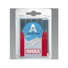 Скобы Novus A 53/10 1000 штук