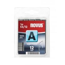 Скобы Novus A 53/12S 1000 штук