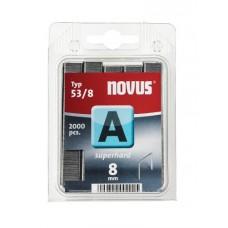 Скобы Novus A 53/8S 2000 штук
