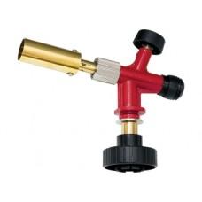Профессиональная горелка на газовый баллон, пьезоподжиг, металл. корпус Matrix
