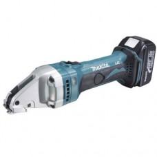 Аккумуляторные шлицевые ножницы по металлу Makita BJS 161 RFE