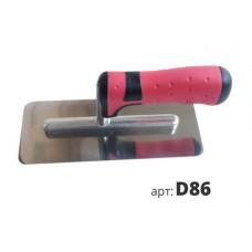 кельма венецианская прорезиненная ручка D86