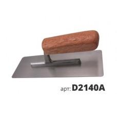 кельма венецианская деревянная ручка D2140A