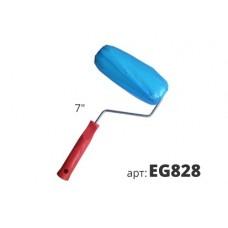 декоративный валик из синего крученого полиэтилена EG828