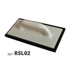 терка пластиковая с черной губчатой основой RSL02