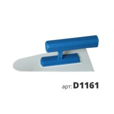 кельма пластиковая закругленная D1161