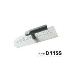 кельма белая пластиковая овальная Венеция D1155
