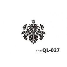 трафарет виниловый КАШПО QL-027