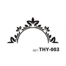 трафарет виниловый ЗЕРКАЛО-2 THY-016