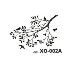 трафарет виниловый ВЕТВЬ ДЕРЕВА XO-002A