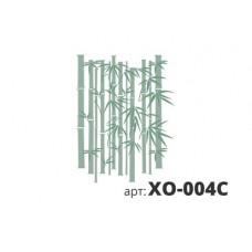 трафарет виниловый БАМБУК (из 3х частей) XO-004C